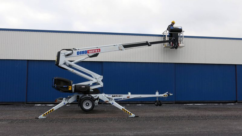 The DINO 160XTB II access platform.