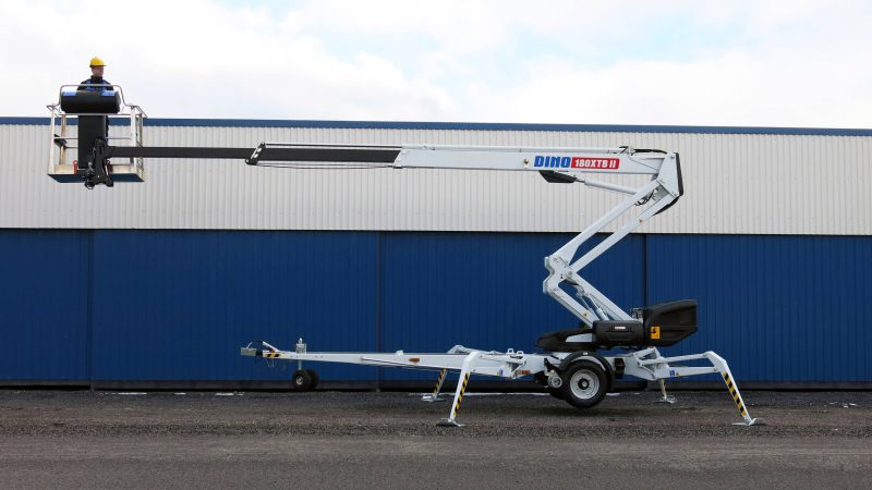 The DINO 180XTB II access platform.