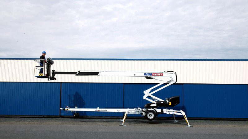 The DINO 210XTB II access platform.