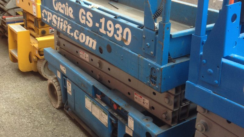 The used Genie GS-1930 we have available.