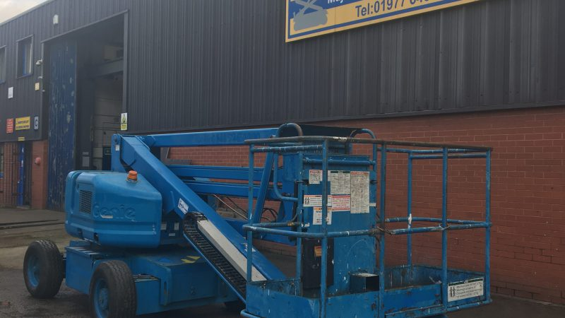 The used Genie Z45 25 Bi-fuel we have for sale.
