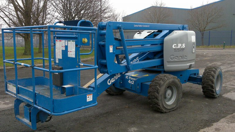 The used Genie Z45/25 IC 2WD we have for sale.