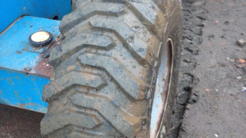 The tyre condition on the Genie Z45/25J we have for sale.