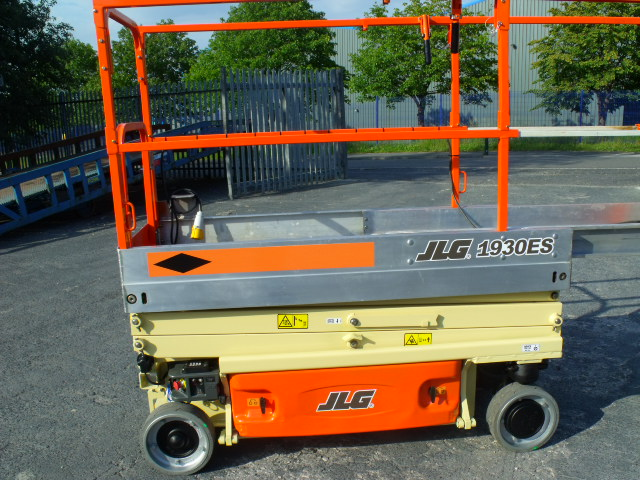A used JLG 1930ES (2005 model) we have for sale.