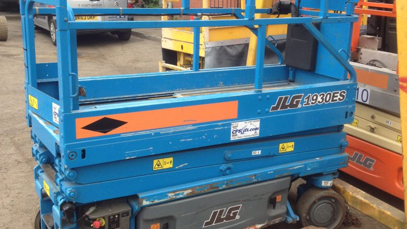 The used JLG 1930ES we have for sale.