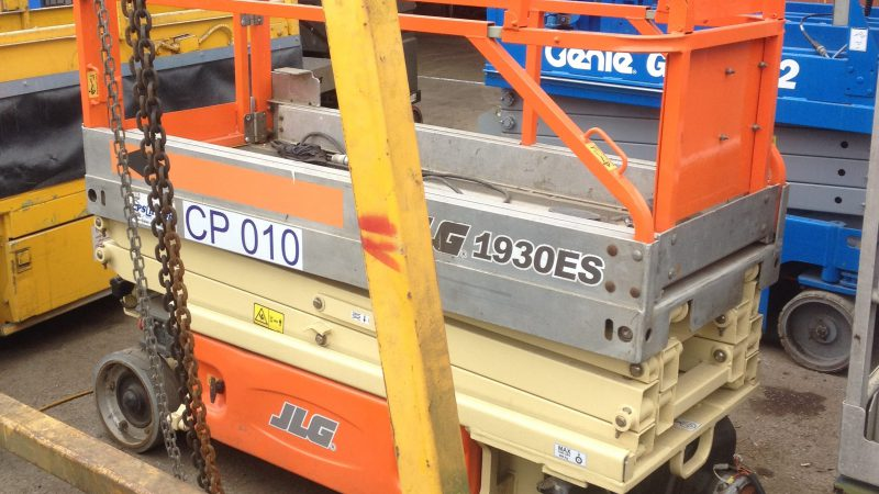 The used JLG 1930ES (2007 model) we have for sale.