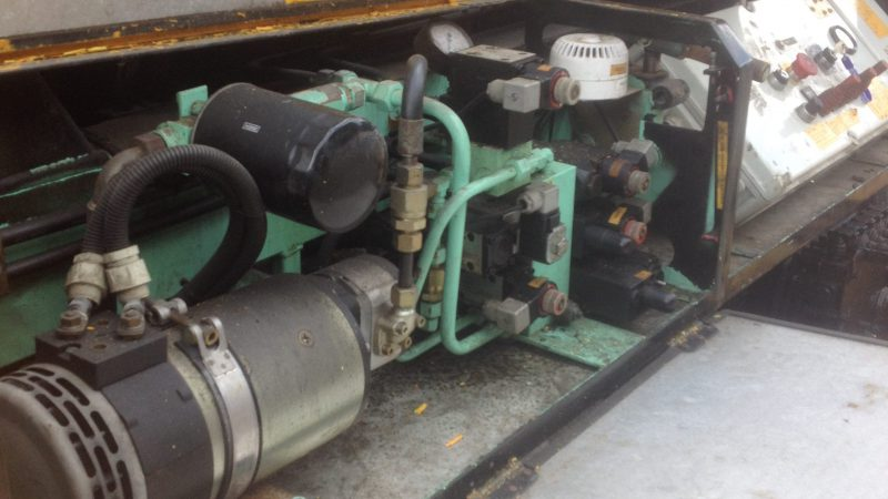 The engine of the OMME 25m we are selling.
