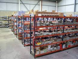 A range of parts in stock.