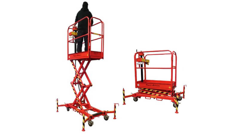 The Laing Access Powerscissor 400 low-level access platform.