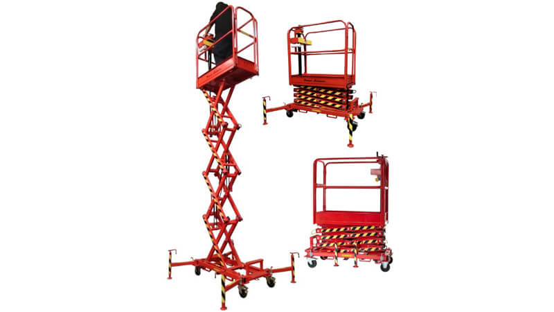 The Laing Access Powerscissor 600 low-level access platform.