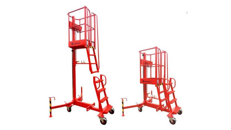 The Laing Access Quickstep 200 low-level access platform.