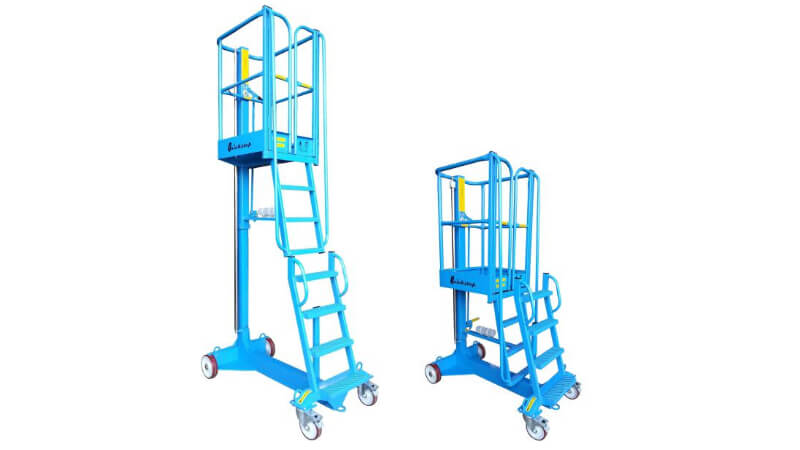 The Laing Access Quickstep Ready low-level access platform.
