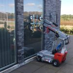 The Smartlift SL 208 Compact glazing robot.