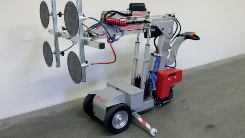 The Smartlift SL 280 Standard glazing robot.
