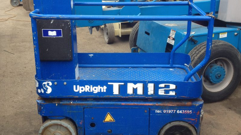 A used Upright TM12 we have for sale.