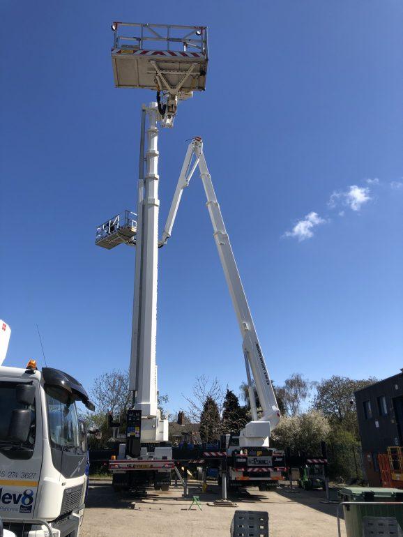 Bronto Skylift aerial work platforms.