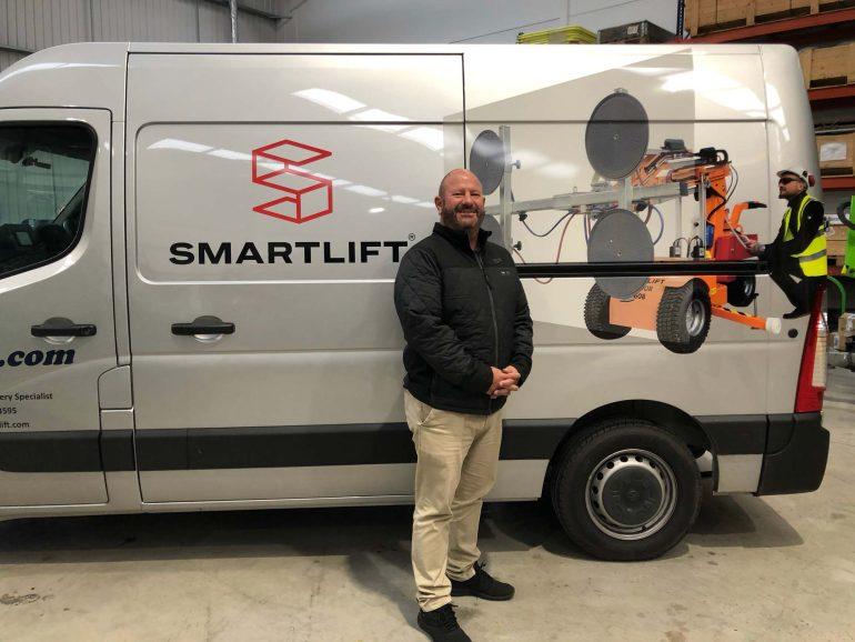 Chris Davies, Smartlift Sales Executive (UK South)