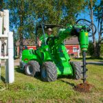 Compact loader hire from CPS Lift.