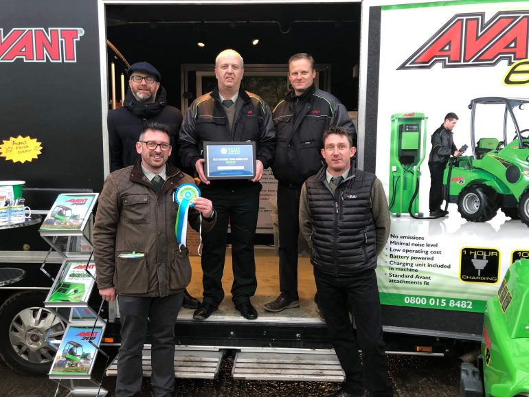 CPS Lift receiving the Best Stand Award at YAMS 2019.