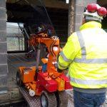 Indoor vs outdoor Smartlift glass lifting robots.