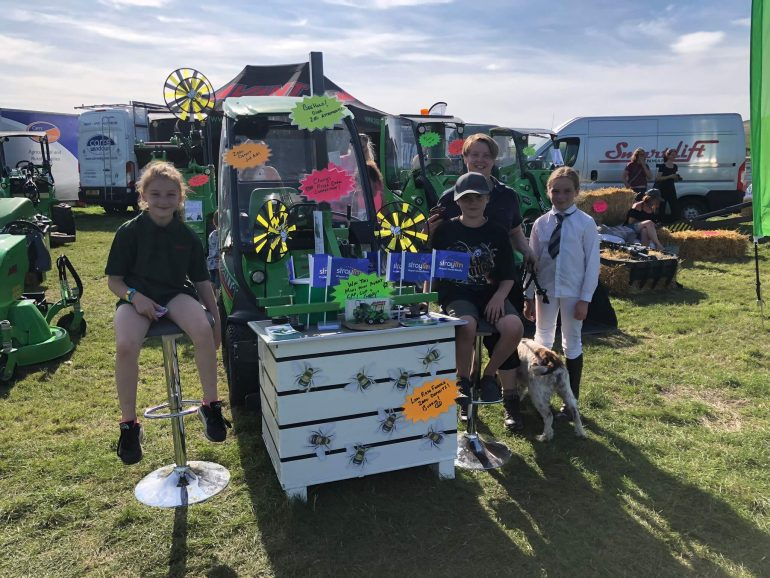 The Mini Avant competition being run by Cherry at 2019's Emley Moor show.