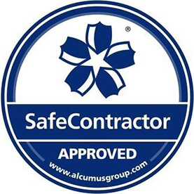 Safe Contractor Approved logo.