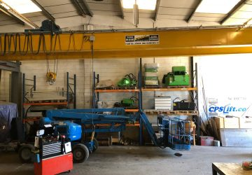 Cherry picker and access platform servicing/repair.