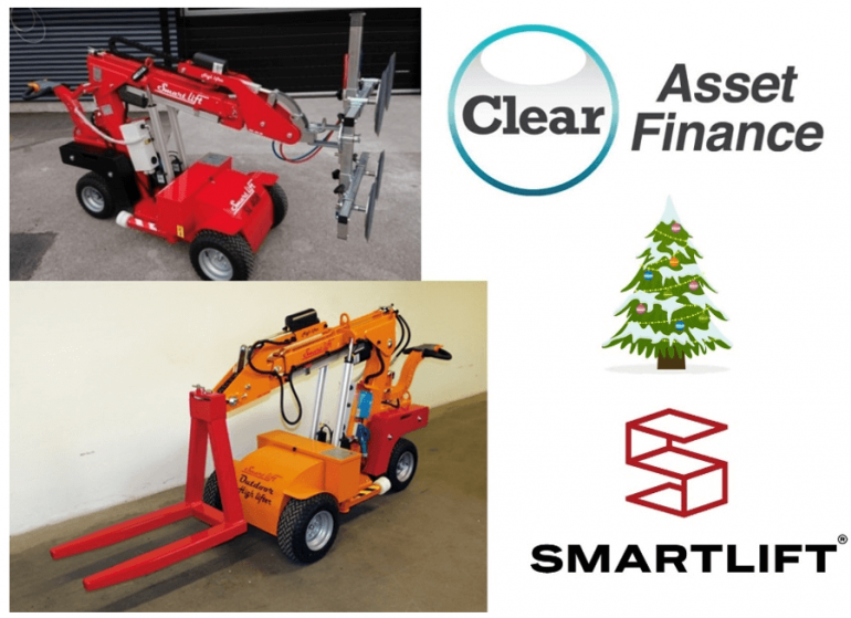 Accessories available on Smartlift glazing robots.