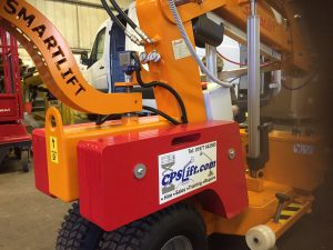 One of the Smartlift glazing robots CPS Lift have available for hire.