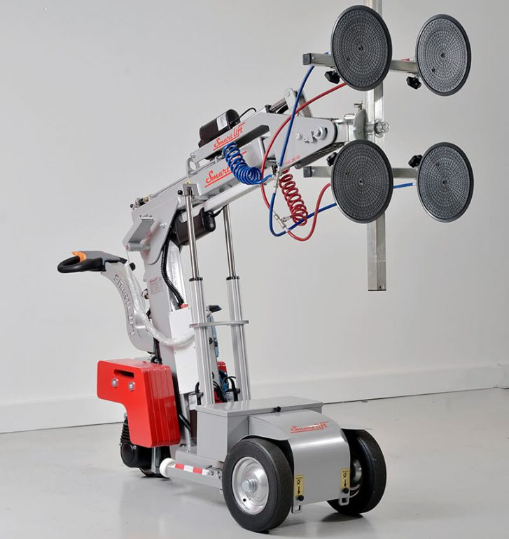 Smartlift SL 280 Indoor glazing robot.