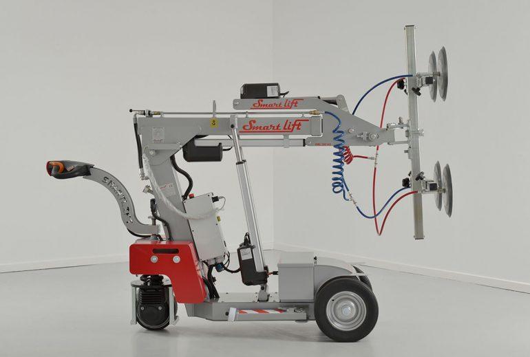 Smartlift SL 380 Indoor glazing robot.