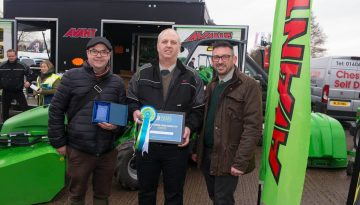 CPS Lift been presented with the Best Outdoor Stand award at YAMS 2019.